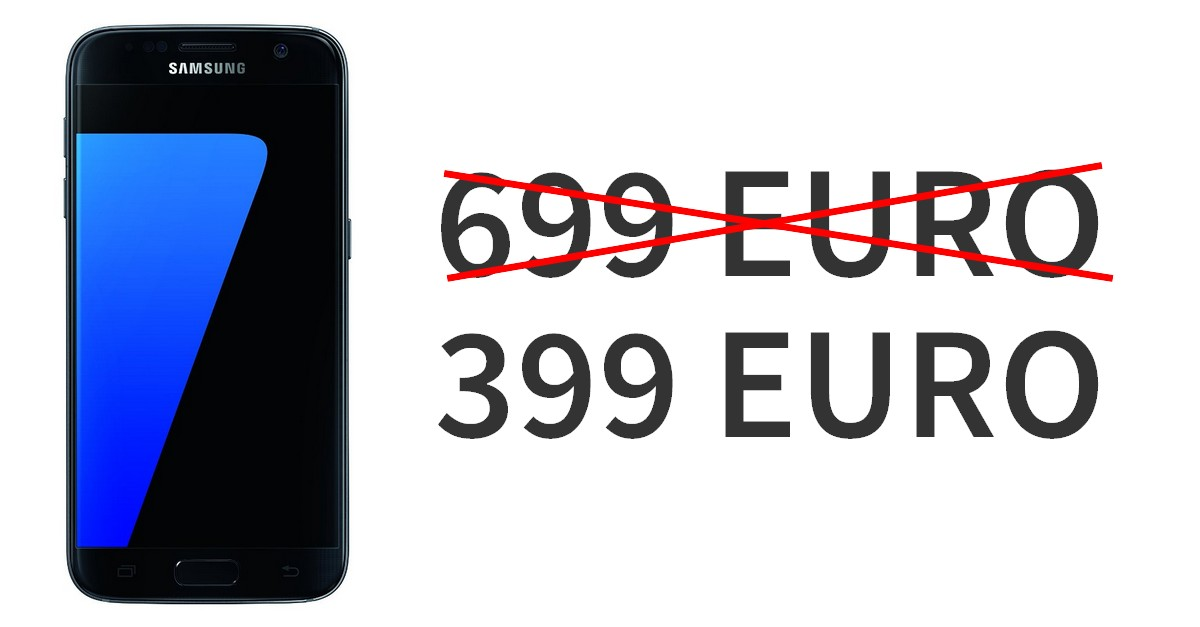 Samsung Galaxy S7 Edge Schnäppchenpreis Für Media Markt