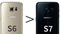 Samsung Galaxy S7: Trotz VR-Brille weniger Vorbestellungen als beim Galaxy S6