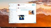 Microsoft: Skype Universal-App für Windows 10 angekündigt