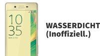 "Sony: Das Xperia X ist ""inoffiziell wasserdicht"""