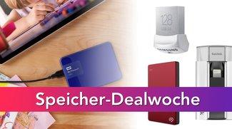 Speicher-Dealwoche bei Amazon: SSDs, Festplatten, SD-Karten u.v.m. nur noch heute günstiger