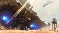 Star Wars 7: Beeindruckendes Fan-Video stellt die Schlacht von Jakku nach