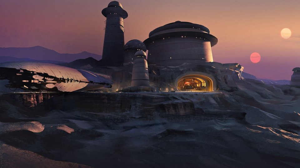 Star Wars Battlefront Outer Rim Tatooine