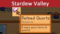 Stardew Valley: Refined Quartz – So bekommt ihr die Resource