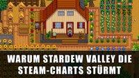 Stardew Valley: Warum der Harvest-Moon-Klon die Steam-Charts stürmt