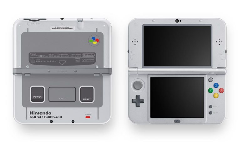 Super Famicon Nintendo New 3DS