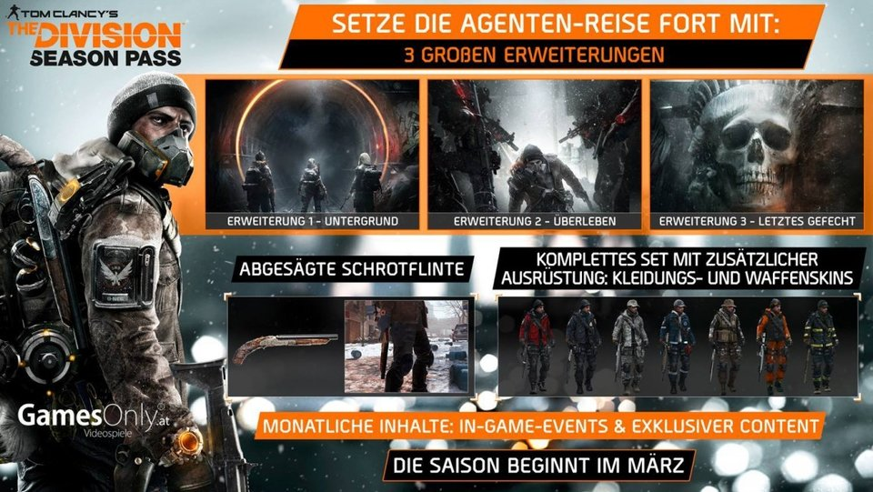 The Division Season Pass Promo