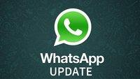 WhatsApp: Update fixt Skalierung unter Windows Phone
