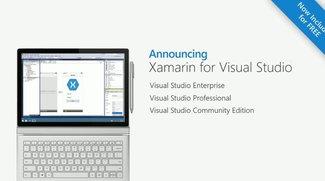Microsoft: Xamarin in Visual Studio integriert, kostenlos und Open Source