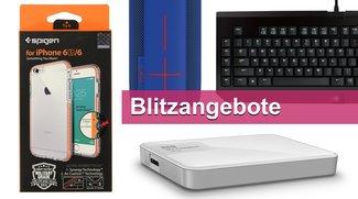 Blitzangebote: Spigen-Case, mechanische Tastatur, Massenspeicher u.v.m. heute günstiger