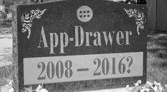 Der App-Drawer ist tot, es lebe der App-Drawer: Warum das Android-Markenzeichen so schnell nicht verschwinden wird