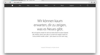 Heute Apple Event – Apple Store bereits offline