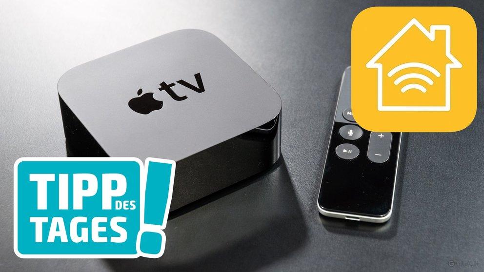 Apple TV als HomeKit-Hub: Produkte von unterwegs ansteuern – GIGA
