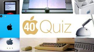 Apple-Quiz: Wie gut kennst du die Apple-Produkte aus 40 Jahren?