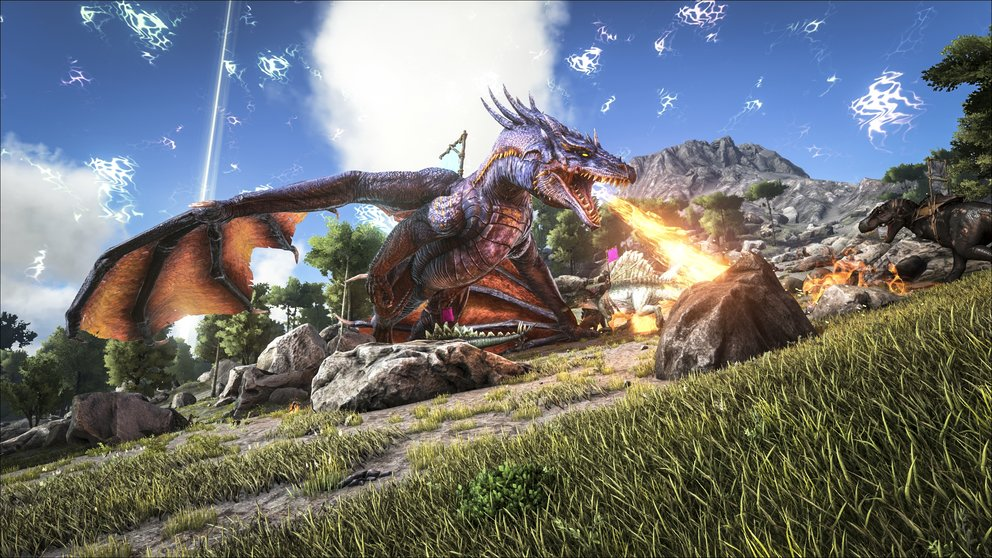 Einen riesigen Drachen tamen? In ARK: Survival of the Fittest ist das kein Problem