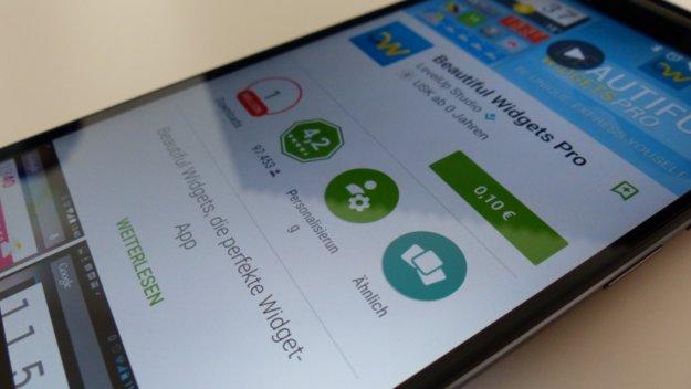 App-Deal: Beautiful Widgets Pro für nur 0,10 Euro im Google Play Store