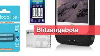 Akkus und Ladegerät von Panasonic, iPhone-Batterie-Hülle, Speichermedien u.v.m. heute günstiger