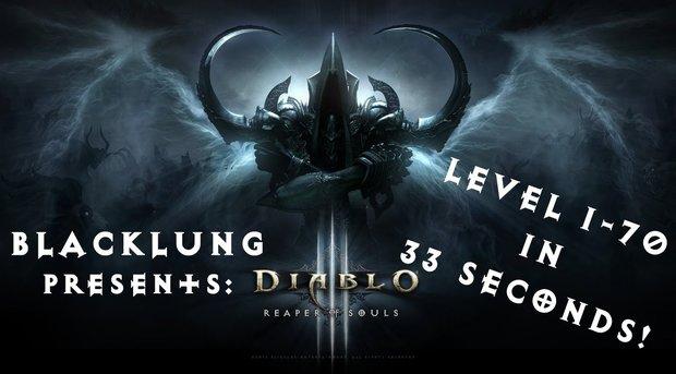 Diablo 3: Spieler erreicht Höchstlevel in nur 33 Sekunden