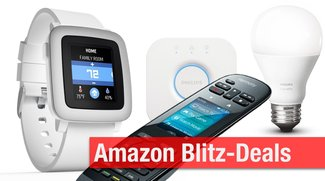 Oster-Blitzangebote: Pebble Time Smart Watch, Philips Hue, USB-Plattenspieler, Logitech Harmony u.v.m. günstiger