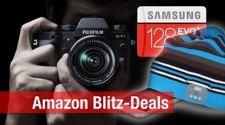 Blitzangebote: Nur heute Bestpreise auf Fuji X-T1, 128GB micro SD, NAS, Bluetooth-Mütze u.v.m.