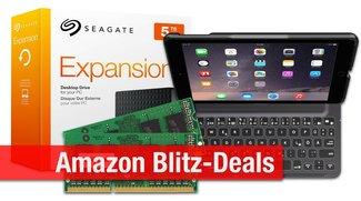 Blitzangebote: Festplatten bis 5 TB, Belkin Tastatur-Case fürs iPad Air 2, Arbeitsspeicher für den Mac heute billiger