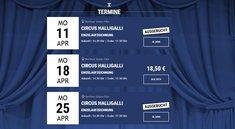 Circus Halligalli: Tickets für die Shows 2016