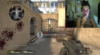Counter Strike - Global Offensive: Streamerin benutzt Lippenstift-Controller