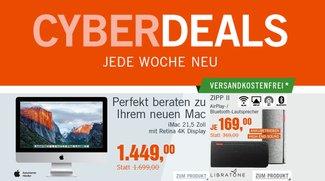 CyberDeals: Bestpreise u.a. für iMac 4K, BeoPlay-Kopfhörer, Zip-II-Lautsprecher u.v.m.