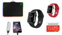 Angebote: Speicher, Akkus u.v.m. reduziert + Apple Watch mit bis zu 100 € Rabatt