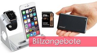 Blitzangebote: Apple-Watch-Dock, Speicherkarten, externe SSDs u.v.m. heute günstiger