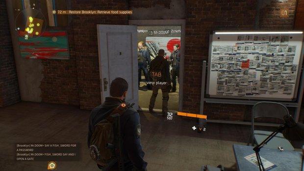 The Division: Spieler blockieren Safehouse-Eingang - so kommt ihr trotzdem durch