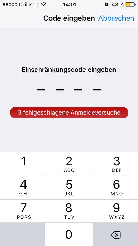 einschränkungscode-iphone