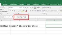 Excel: FINDEN (Funktion) – einfach erklärt