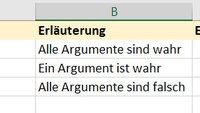 Excel: ODER-Funktion nutzen – so geht's