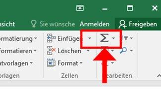 Summe in Excel berechnen – so geht's