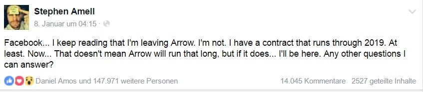 facebookpost stephen amell