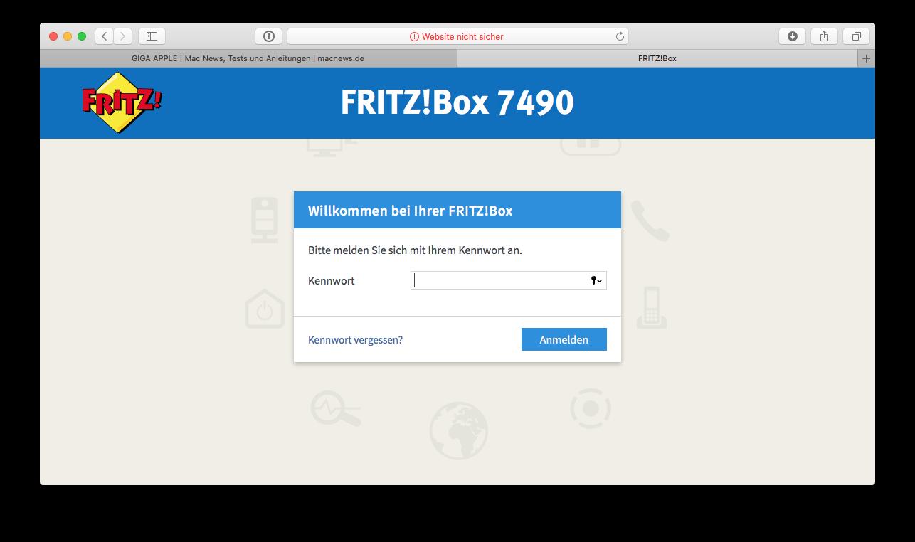 FritzBox Einstellungen aufrufen und Update installieren, so gehts