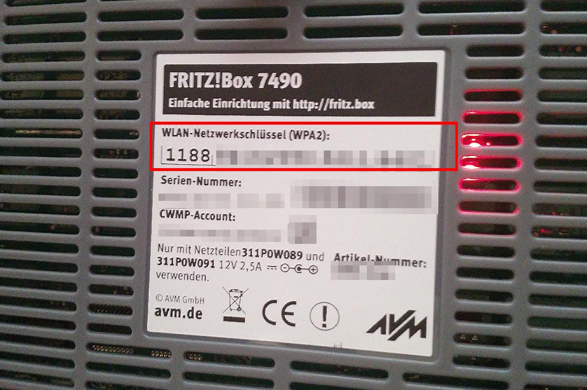fritzbox passwort vergessen was tun so ndert ihr s giga. Black Bedroom Furniture Sets. Home Design Ideas