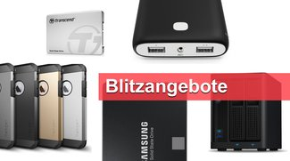 Blitzangebote: 1-TB-SSDs, Spigen-Case, Massenspeicher u.v.m. heute günstiger