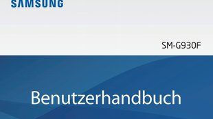 Samsung Galaxy S7: Bedienungsanleitung als PDF-Download