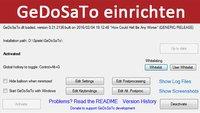 GeDoSaTo installieren und Grafik-Einstellungen anpassen – So geht's
