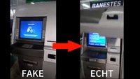 Falscher Geldautomat: So dreist, dass es schon wieder genial ist [Video]