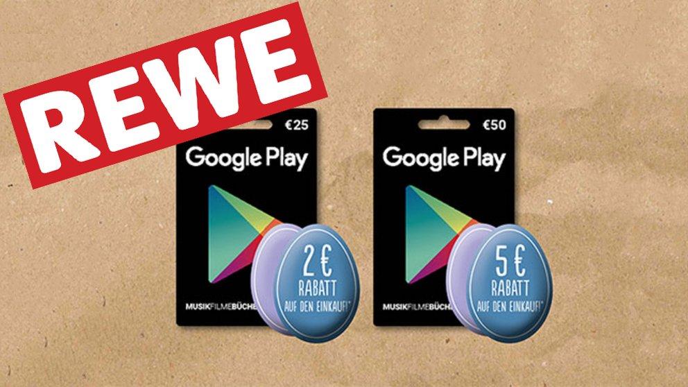 Rewe Karte.Rewe Bis Zu 10 Prozent Rabatt Auf Google Play Store Guthabenkarten