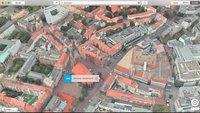 """Apple-Karten: """"In der Nähe"""" jetzt auch in Österreich und der Schweiz –weitere Flyover-Orte"""