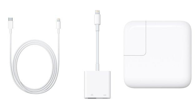 iPad Pro: Lightning auf USB-C-Kabel erlaubt schnelleres Laden, USB 3.0 nur im 12,9-Zoll-Modell