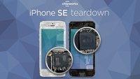 iPhone SE: Sezierung offenbart Bauteil-Mix aus iPhone 5s, 6 und 6s