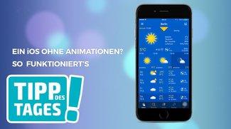 iOS-Animationen ausschalten: Mit diesem Hack beschleunigst du iPhone & iPad