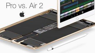 iPad Pro 9,7 und 12,9 Zoll vs. iPad Air 2 im Vergleich: Wer wird Meister der Tablets?