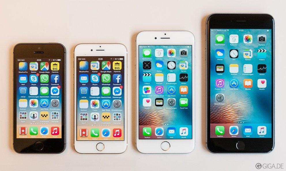 gebrauchte iphone se 16