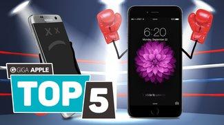 5 Gründe, warum das iPhone 6s besser als das Samsung Galaxy S7 ist